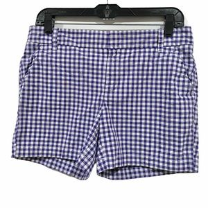 Caslon Checked Gingham Shorts